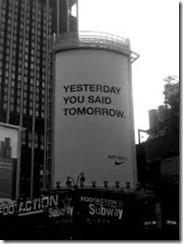 Nike Yesterday