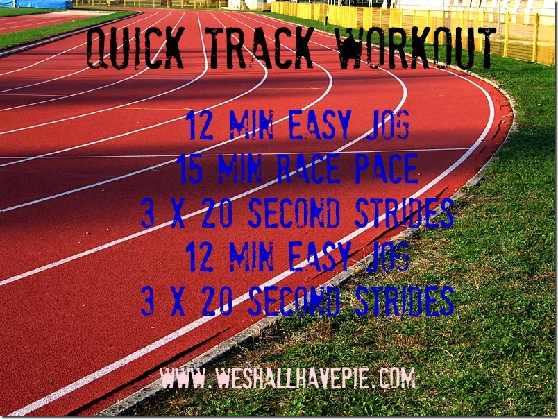 Quick Track Workout