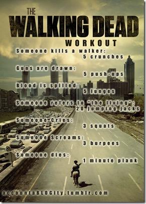 Walking Dead Workout
